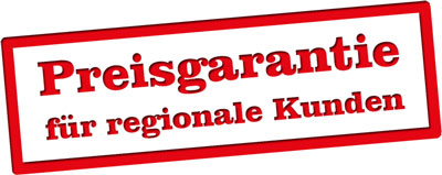 Preisgarantie für regionale Kunden