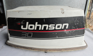 A423M6 Johnson BJ30BAESS Motorhaube