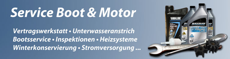 Service - Boot & Motor