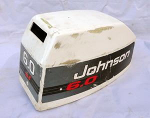 A521M45 Evinrude Johnson BJ6DRETB Motorhaube